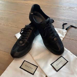 🔹 GUCCI Lase Up GG Sneakers